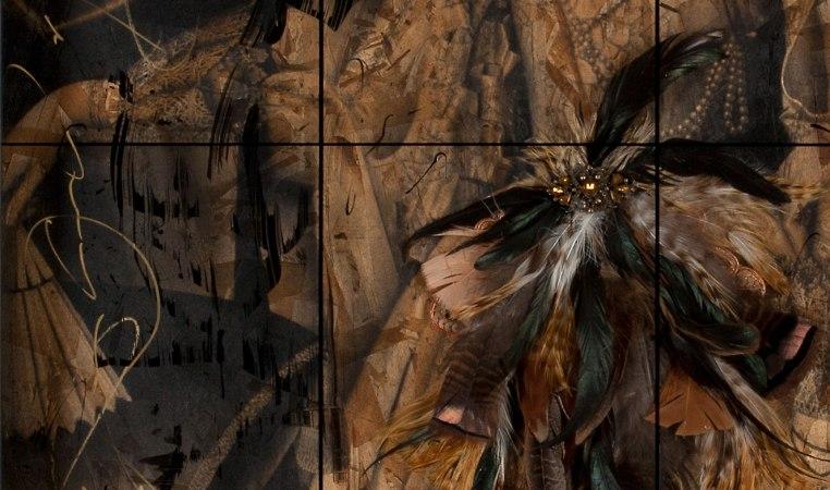 Queen of Masquerade detail hand