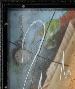 The Traveler by Ingrid Dee Magidson - Detail