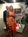 Jay and Ingrid at Art Basel, Miami