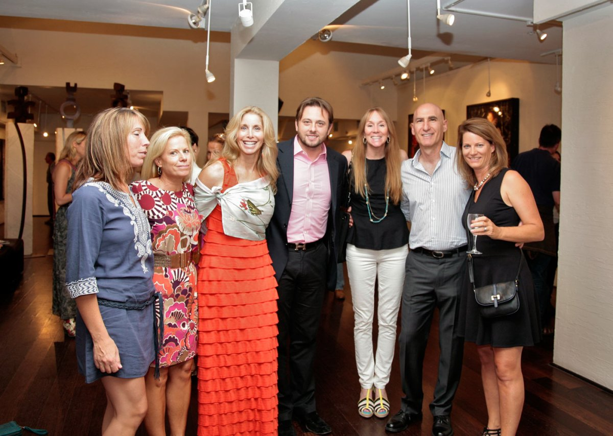 McClure, Ingrid, Alex Cesaria, Colleen Delhia, Jay and Gretchen
