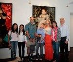 Jay & Ingrid with the Orsak Family
