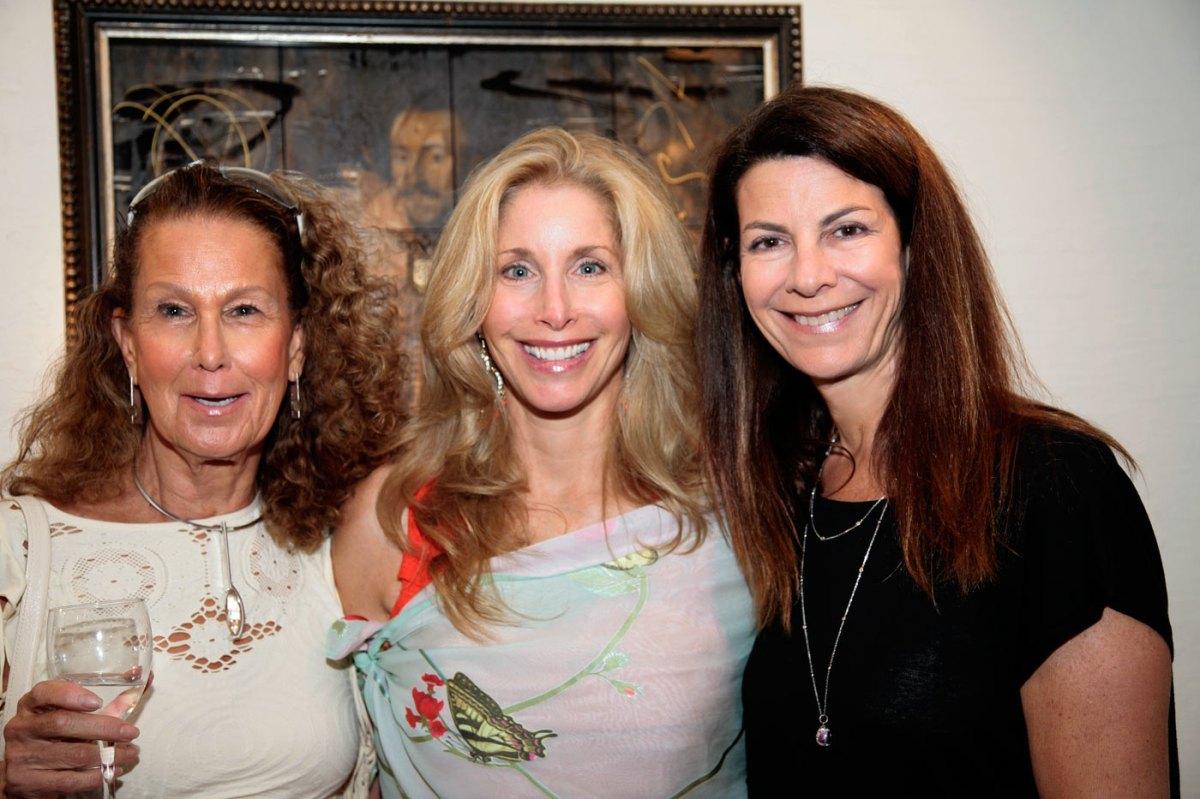 Elaine Hill, Ingrid and Alicia Goldsmith