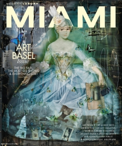 Ingrid Magidson on the cover of the December issue of Miami Magazine