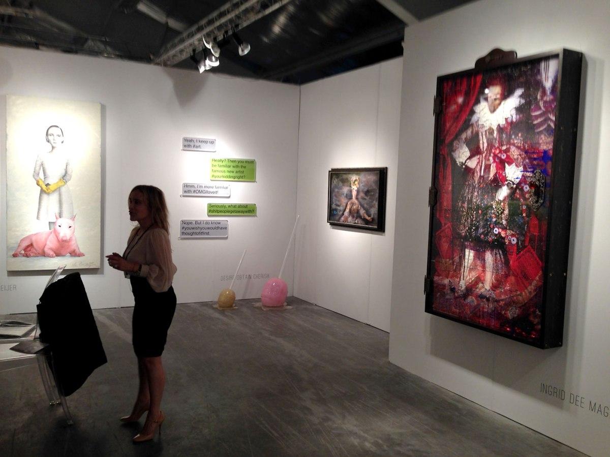 Unix Gallery Booth at ArtAspen