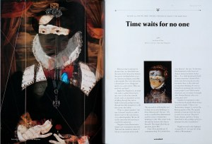 Womankind Magazine with Ingrid's artwork