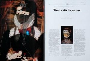Womankind Magazine with Ingrid's artwork
